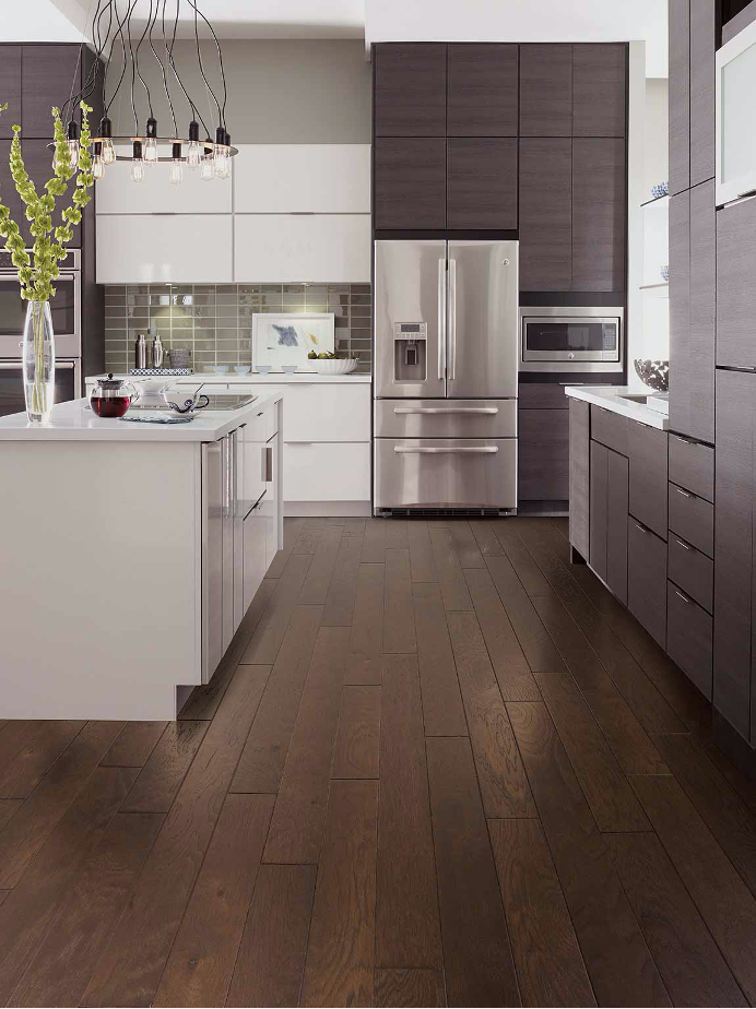 Hardwood Floor Kitchen Example