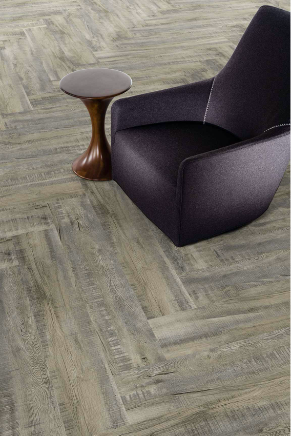Herringbone Pattern Hardwood Floor Example